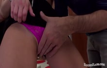 Horny babe loves a big hard cock in her pussy