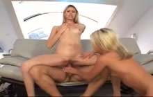 Tayla Rox punishes babysitter Crystal Ray with anal