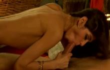 Bollywood Babe Loves Sucking Cock
