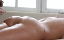 Jada Stevens lesbian massage with Gabriella