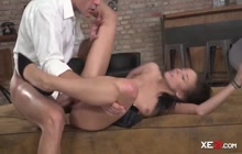 Teen Angel Enjoying Anal