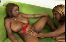 Essence and Tiffany Staxxx in hot lesbian video