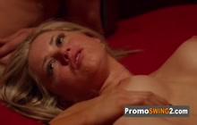 A wild night out ended up in a big and messy swinger orgy! Just watch!