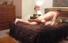 Redhead slut cheats on her man
