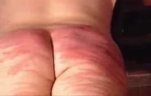 Blood red ass