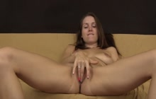 Lelu Love gets her pink pussy wet