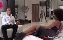 Luna Corazon and her submissive friend ass-fucked