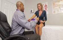 BBC gives a hot mature much wanted orgasm
