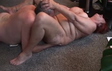 Fat grandma gets some pussy licking