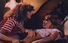 Lesbian vintage scene with Tamara and Bunny