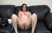 Chubby girl fucked on casting